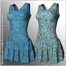 Sina Dress and 14 Styles for La Femme, V4, PE and Dawn image 5