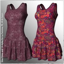 Sina Dress and 14 Styles for La Femme, V4, PE and Dawn image 6