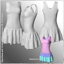 Sina Dress and 14 Styles for La Femme, V4, PE and Dawn image 7