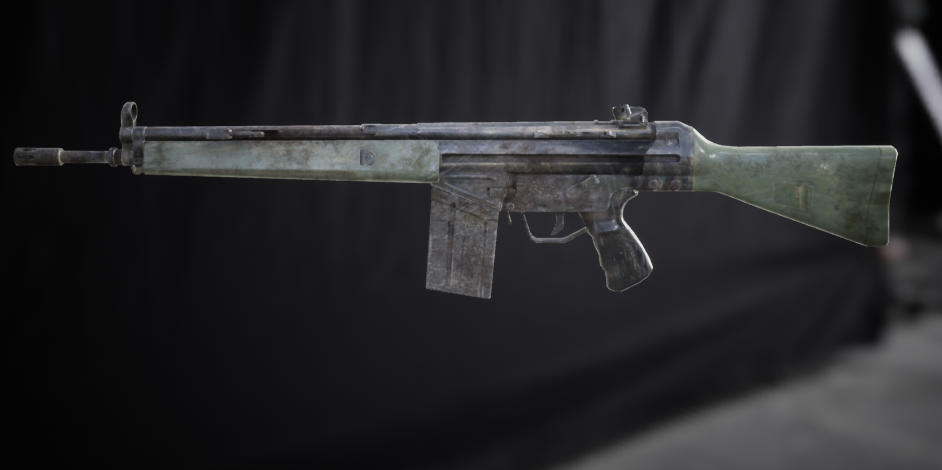 Rifle G3A4 - Extended License by zoonoo