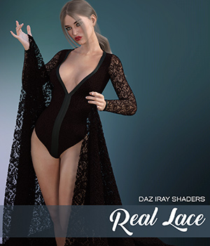Daz Iray - Real Lace 2D Graphics Merchant Resources Atenais