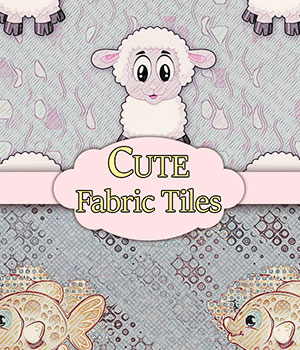 MR-Cute Fabrics 2D Graphics Merchant Resources antje
