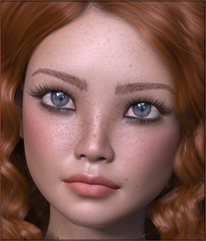 TDT-Becky for Genesis 8 Female 3D Figure Assets Deva3D