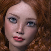 TDT-Becky for Genesis 8 Female image 4