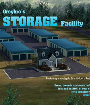 Greybro's Storage Facility 3D Models Disciple3d