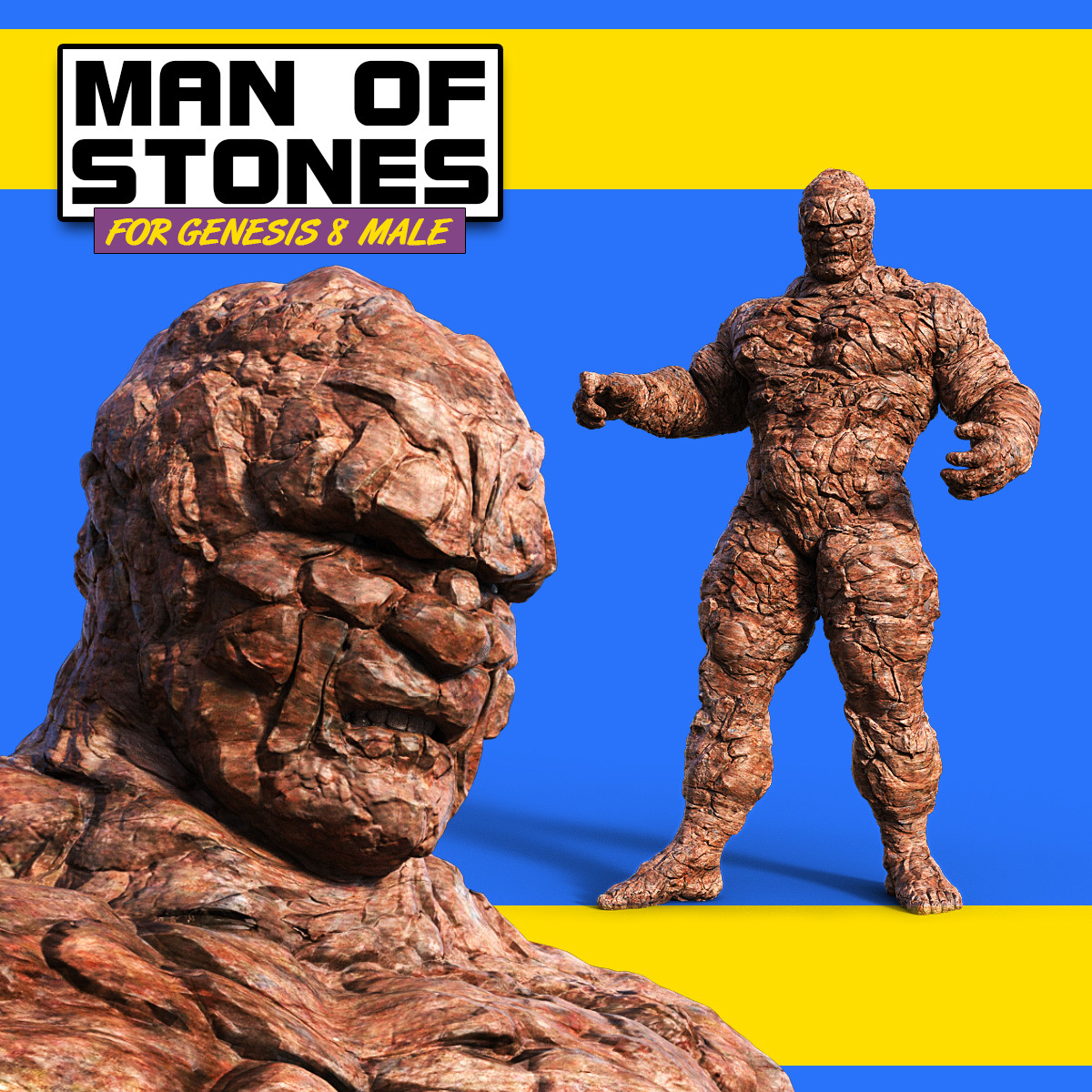 Man Of Stones for G8M by powerage