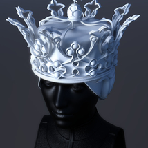 Queen's Crown for 3ds Max - Extended License image 1