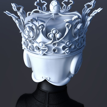 Queen's Crown for 3ds Max - Extended License image 3