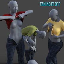 Taking It Off For Greybro's G8 Jeans and Tee Female Edition image 1