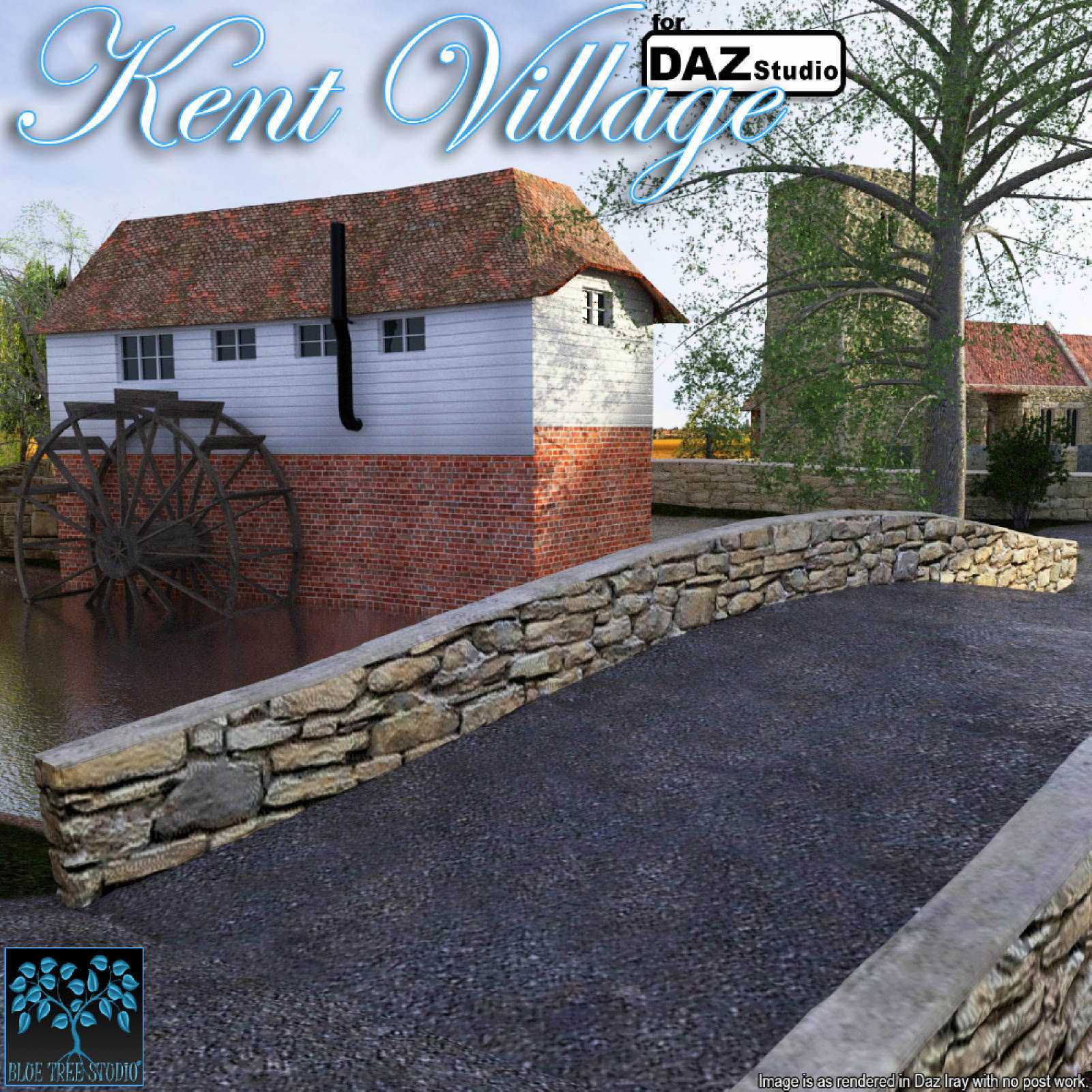 Kent Village for Daz by BlueTreeStudio