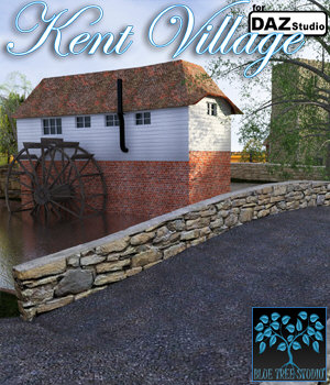 Kent Village for Daz 3D Models BlueTreeStudio
