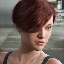 Ammy Hair for Genesis 3 and 8 Females image 9