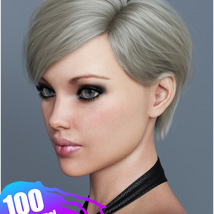 Ammy Hair Texture XPansion for Genesis 3 and 8 and La Femme image 3