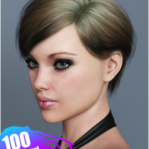 Ammy Hair Texture XPansion for Genesis 3 and 8 and La Femme image 4