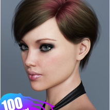 Ammy Hair Texture XPansion for Genesis 3 and 8 and La Femme image 7