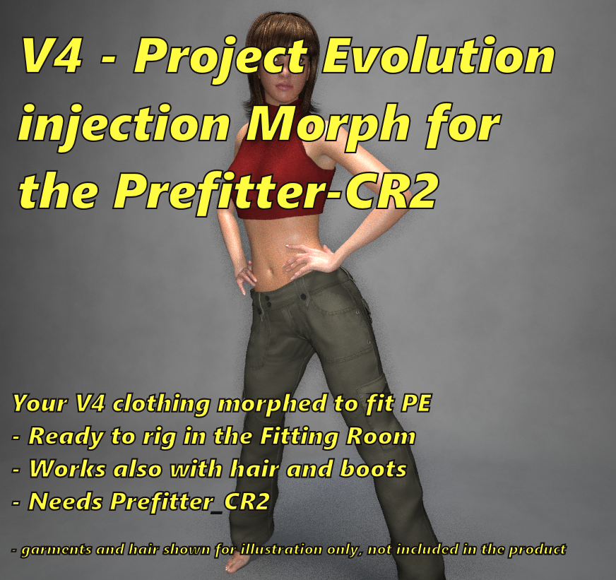 Project Evolution injection for Prefitter-CR2 by FVerbaas