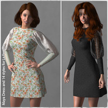 Maya Dress and 14 Styles for La Femme image 1