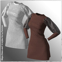 Maya Dress and 14 Styles for La Femme image 4