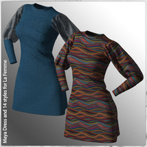 Maya Dress and 14 Styles for La Femme image 5