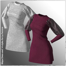 Maya Dress and 14 Styles for La Femme image 6