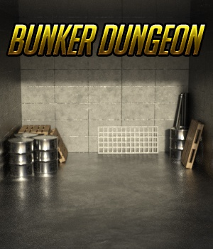 Bunker Dungeon 3D Models Xile3D