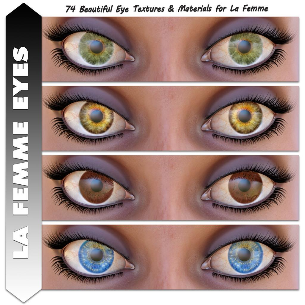 Angela3Ds La Femme Eyes by Angela3D