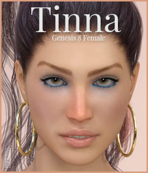 MYKT Tinna for Genesis 8 Female 3D Figure Assets MoyKot