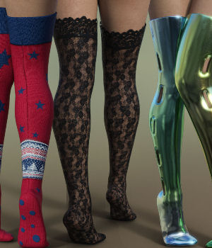 OverKneeFun for Genesis 8 Female 3D Figure Assets Karth