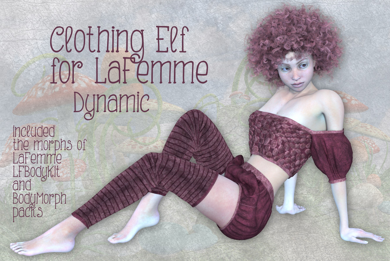 Clothing Elf for LaFemme