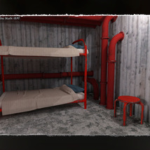 3D Scenery: Arctic Shelter - Extended License image 1