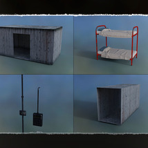 3D Scenery: Arctic Shelter - Extended License image 8