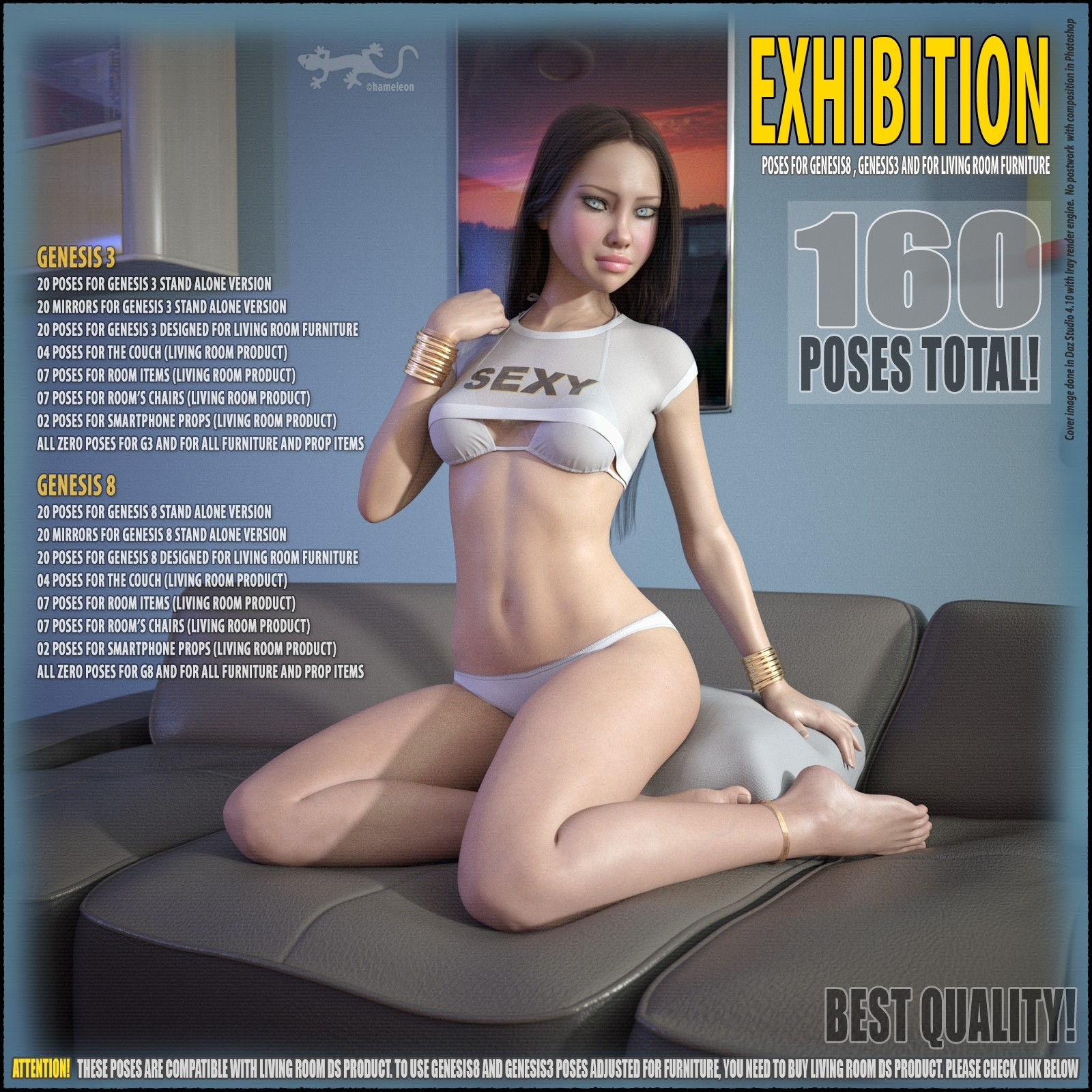 Exhibition - Poses for G8 and G3