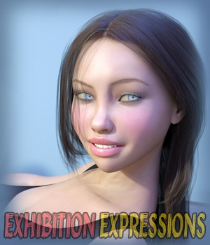 Exhibition - Expressions for Genesis 3 and Genesis 8 3D Figure Assets hameleon