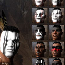 Native American Warrior War Paintings for G8M image 1