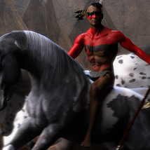 Native American Warrior War Paintings for G8M image 3