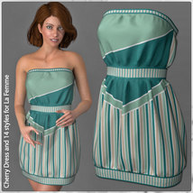 Cherry Dress and 14 Styles for La Femme image 1