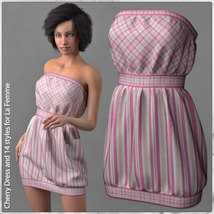 Cherry Dress and 14 Styles for La Femme image 2