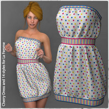 Cherry Dress and 14 Styles for La Femme image 4