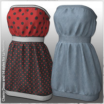 Cherry Dress and 14 Styles for La Femme image 9