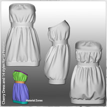 Cherry Dress and 14 Styles for La Femme image 10