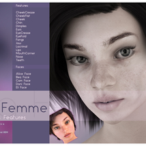 Biscuits Faces & Features for La Femme image 1