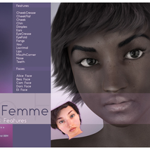 Biscuits Faces & Features for La Femme image 2