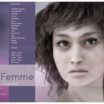 Biscuits Faces & Features for La Femme image 4