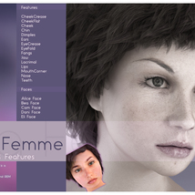 Biscuits Faces & Features for La Femme image 5