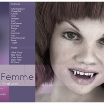 Biscuits Faces & Features for La Femme image 6