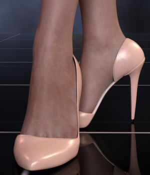 Abigail Heels for Genesis 8 Female  3D Figure Assets WildDesigns