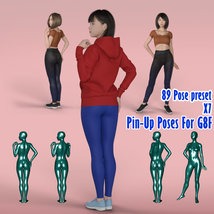 X7 Pin-Up Poses For G8F 2019 image 2