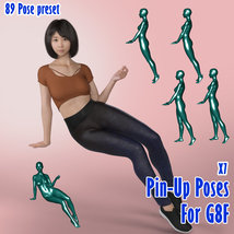 X7 Pin-Up Poses For G8F 2019 image 3