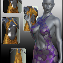 dForce Chic Couture Gown for Genesis 8 Females image 6