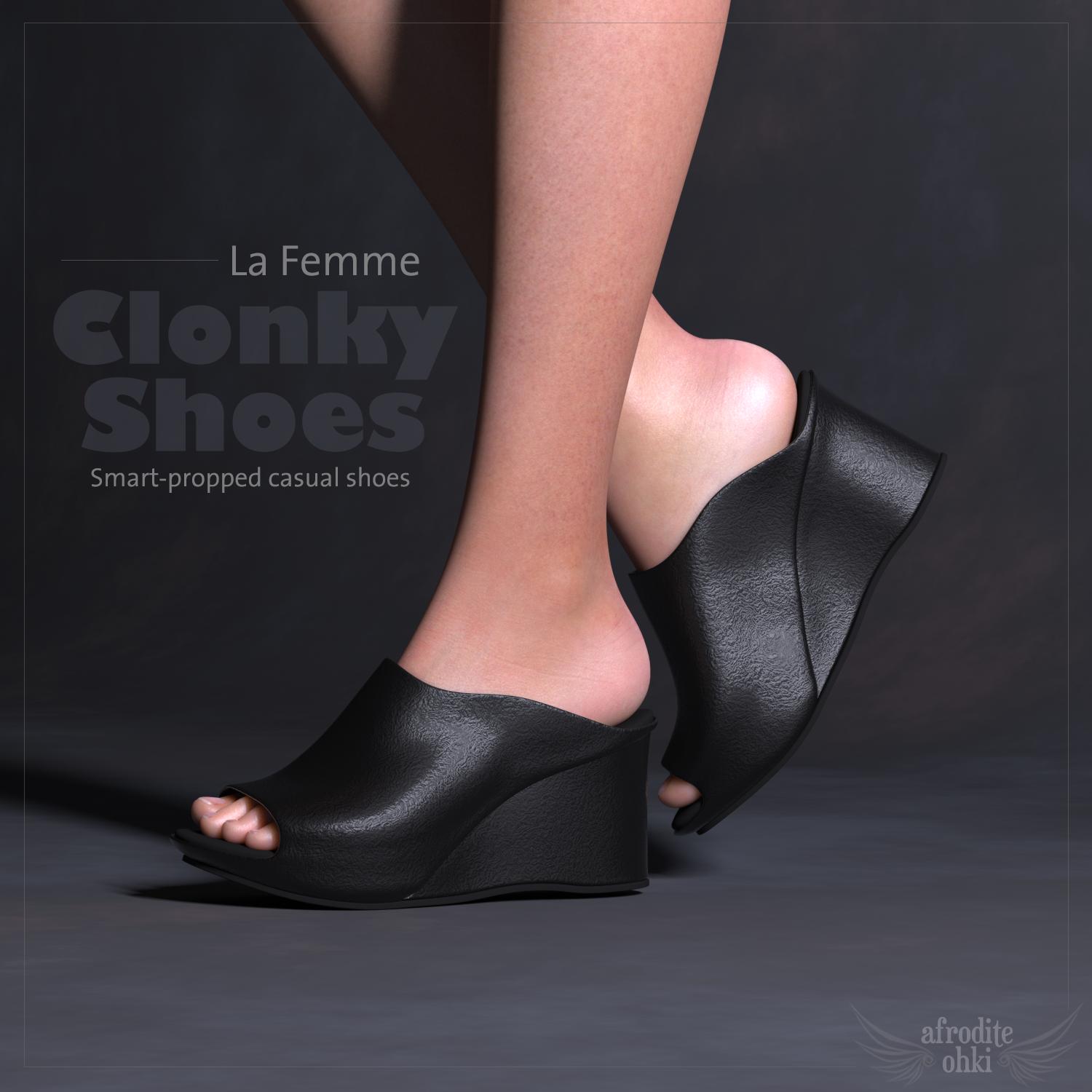 Clonky Shoes for La Femme by Afrodite-Ohki